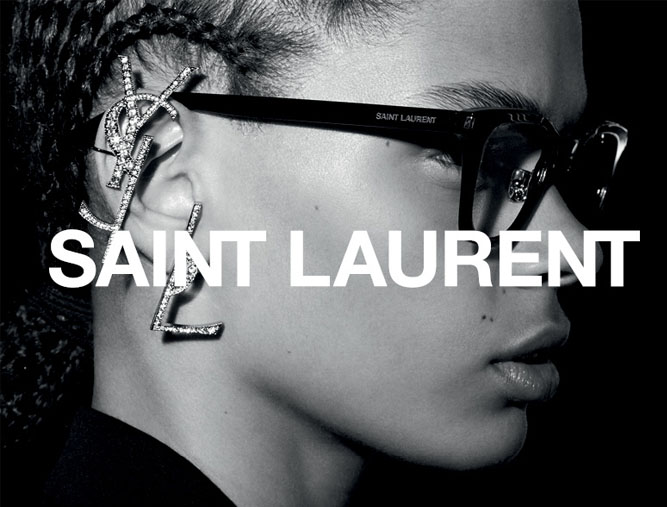 Saint Laurent optique femme - Opticien Debauge (69)