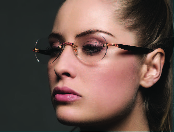 Golden wood optique femme