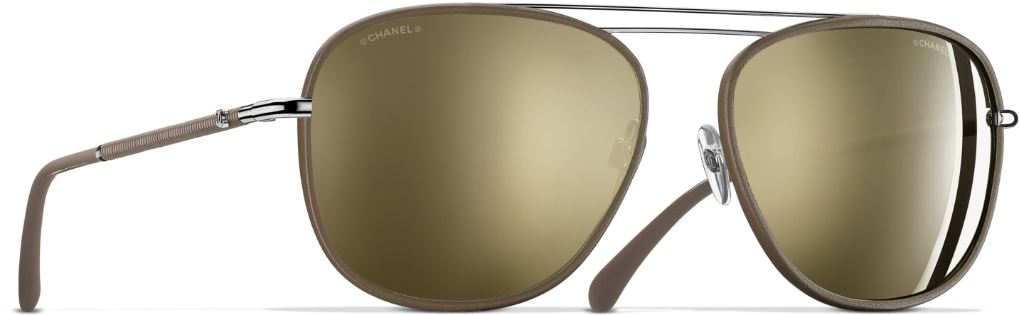 Lunettes Or Chanel
